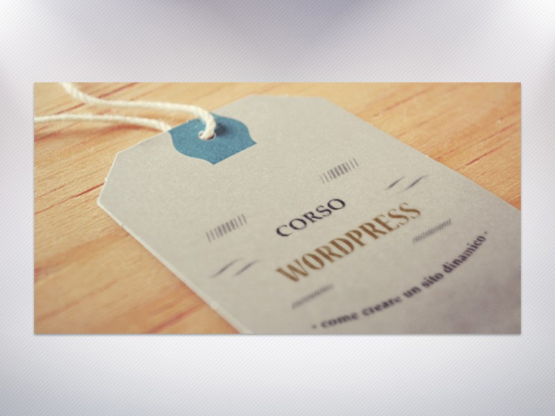 Corsi WordPress Pordenone