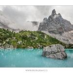Dolomiti lago Sorapiss