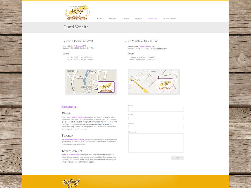 Creazione sito web portogruaro