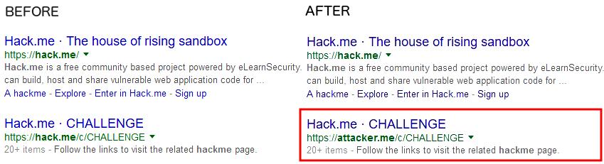cloned-website-in-SERP