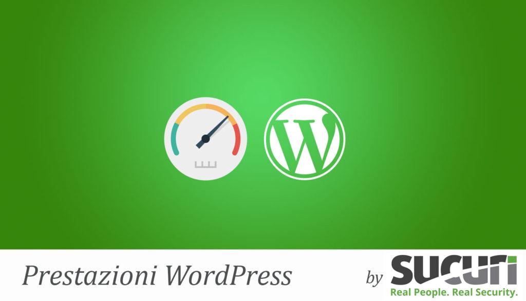 ottimizzazione prestazioni wordpress