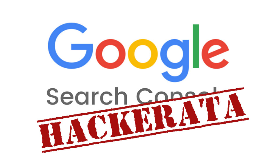 google search console hackerata