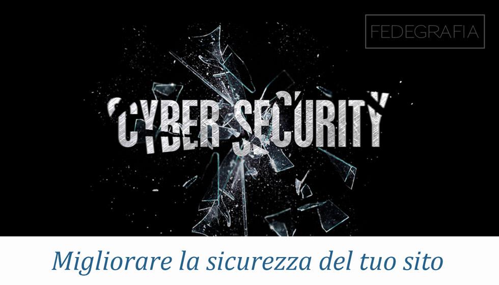 migliorare sicurezza sito web